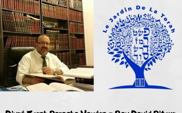 Divré Torah Paracha Vayéra - Rav David Pitoun