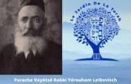 Paracha Vayétsé Rabbi Yérouham Leibovitch : une confiance épurée.