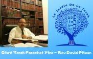 Divré Torah sur Parachat Ytro Rav David Pitoun
