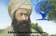 Paracha Ytro - 5 Divré Torah par Jardindelatorah