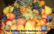 Tou Bichvat Roch Hachana Lailanot Halacha Yomit