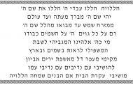 XXIX Hallel-Louanges – Lois concernant la fin de la récitation du Hallel après les actions de grâce après le repas - Torath Hamoadim