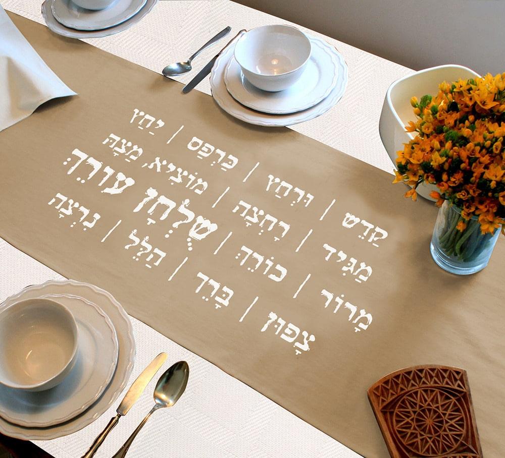 XXVI Shoul'han Orekh - Table dressée / Le diner est servi – Lois concernant le repas du soir de Pessa'h - Torath Hamoadim