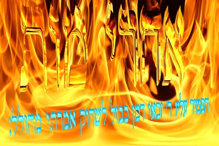 Parashat Quédoshim (5774) - Yéhouda Moshé Charbit