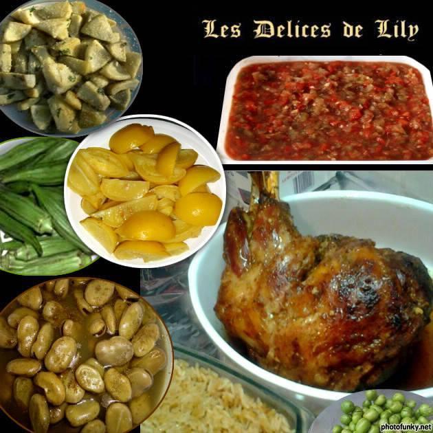 Nos recettes - EPAULE D'AGEAU-Riz - Par Lily