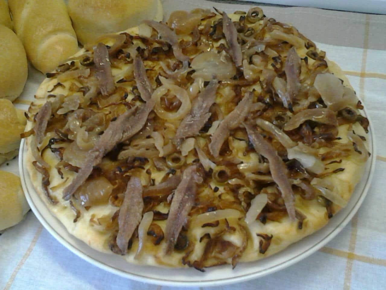 Tarte oignons anchois - Nos recettes - Par Lily