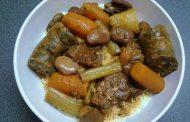Nos recettes pour Shabbath -COUSCOUS FEVES/POTIRON