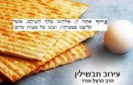 Le 'Erouv Tavchilin - Rav David Pitoun