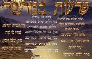 Divré Torah Paracha Bamidbar - Réouven Carceles