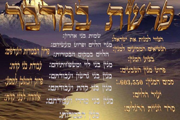 Parashat Bamidbar (5775) - Yehouda Moshé Charbit