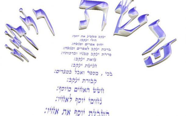Parashat Vay'hi - 5775 - Yéhouda Moshé Charbit