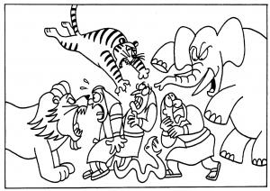 Les bêtes sauvages Le Malbim. 4ème plaie d'Egypte. Rav Michaël Smadja