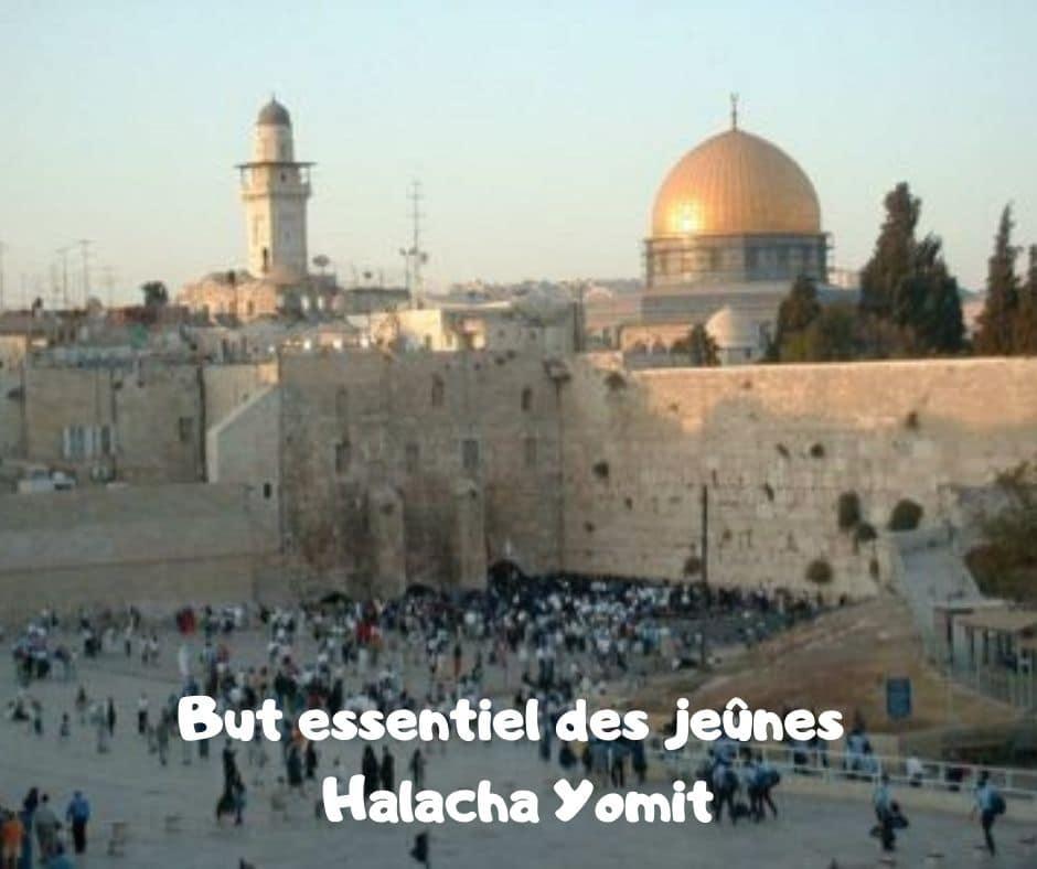 But essentiel des jeûnes - Halacha Yomit