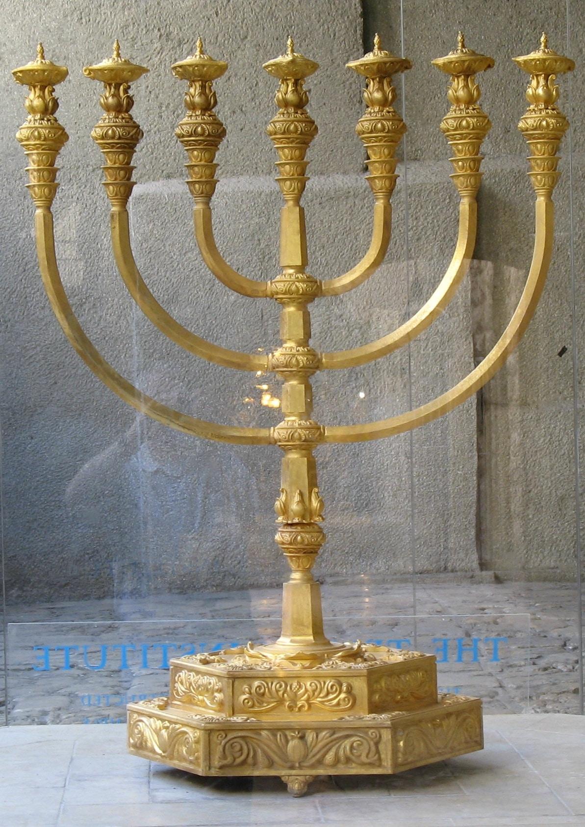 La Ménorah symbole de la présence Divine - Paracha Tétsavé - Réouven Carceles