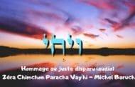 Zéra Chimchon Parachat Vay'hi (audio) -Darouch 1
