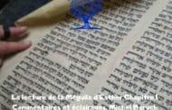 La lecture de la Méguila d'EstherChapitre 1 Commentaires et éclairages