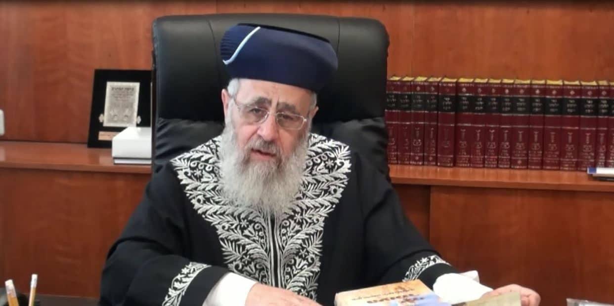 Pessa'h II : Différences de coutumes entre Ashkenazim et Séfaradim - Cours hebdomadaire du Rishon Letsione Marane Rav Itshak Yossef Shalita du 17 mars 2018