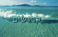Divré Torah Parashat Kédochime - 5778 - Y. M. Charbit