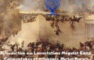 Introduction aux Lamentations Méguilat Eikha - Michel Baruch