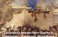 Méguilat Eikha Chapitre 2 - Commentaires et éclairages.  Michel Baruch
