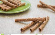 Mézonot sur des rouleaux de gaufrettes durant un repas à base de pain ?