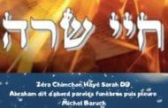 Zéra Chimchone Paracha Hayé Sarah. Darouch 3 (audio). Michel Baruch