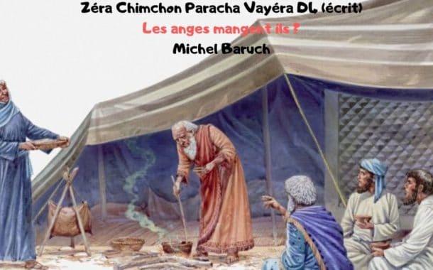 Zéra Chimchon Paracha Vayéra Darouch 4 (écrit). Michel Baruch