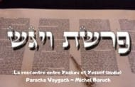 La rencontre entre Yaakov et Yossef  (audio). Paracha Vaygach.