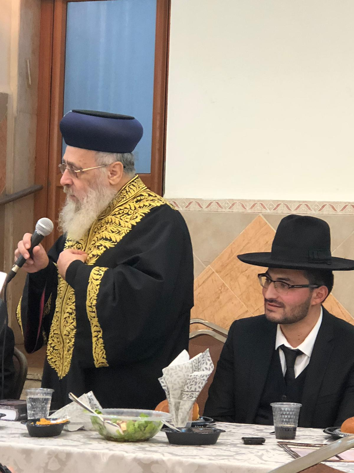 Le Omer - Cours hebdomadaire du Rishon Letsione Marane Rav Itshak Yossef Shalita du 27 Avril 2019