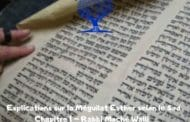 Explications sur la Méguilat Esther selon le Sod Ch. I RAMDOU