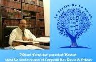Parachat Houkat - La vache rousse et l'orgueil - Rav David Pitoun