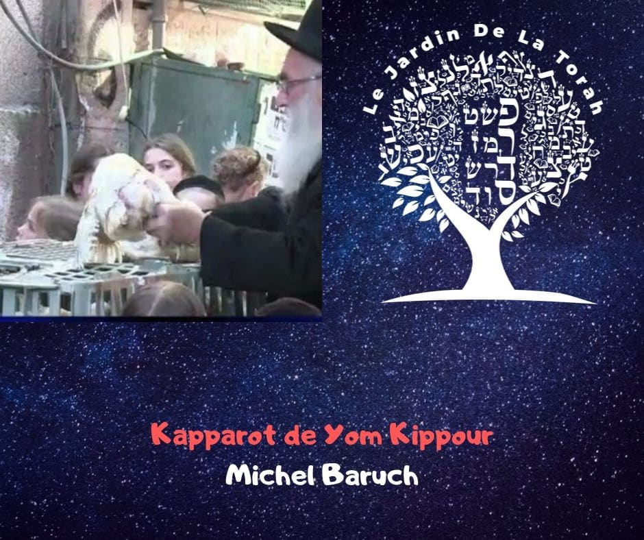 Les Kapparot de Yom Kippour - Michel Baruch