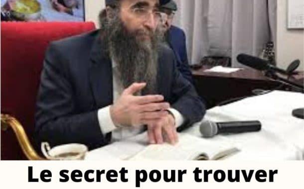 Le secret pour trouver grâce aux yeux d'Hachem. Rav Yoshiahou Pinto