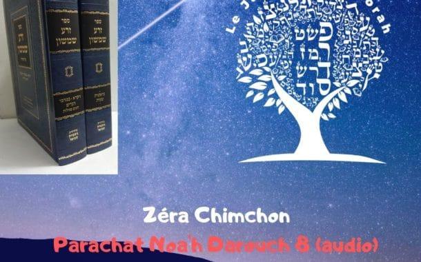 Zéra Chimchon Parachat Noah (audio) Darouch 8. Michel Baruch