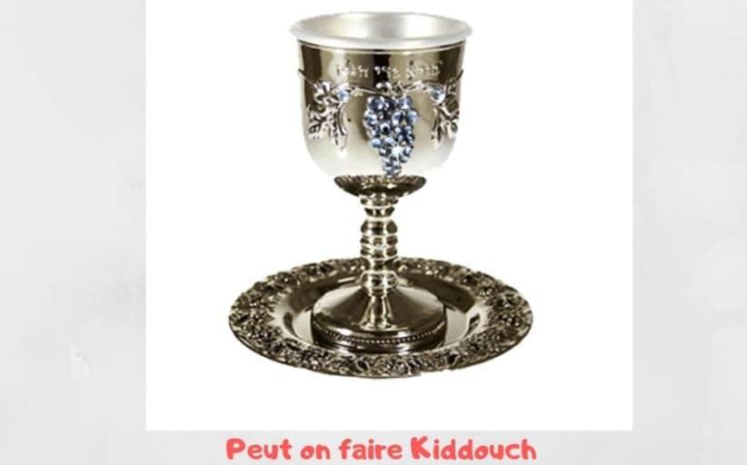 Faire Kiddouch  sans enchaîner avec le repas ? Yalkout Yossef 271 §12