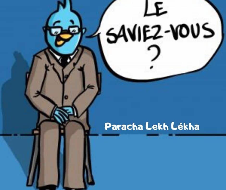 Le saviez vous Parachat Lekh Lékha ? Rav Michael Smadja