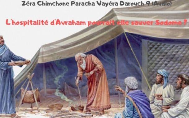 Zéra Chimchon Paracha Vayera.  Darouch 9 (audio). Michel Baruch