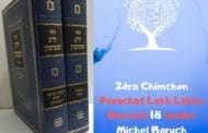 Zéra Chimchon Parachat Lekh Lekha.  Darouch 18 (audio) Michel Baruch