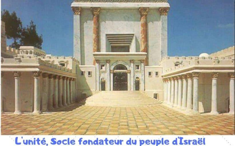 L'unité socle fondateur du peuple d'Israël. Paracha Vayétsé.