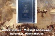 Zéra Chimchon Méguilat Eikha (audio).  Darouch 6. Michel Baruch