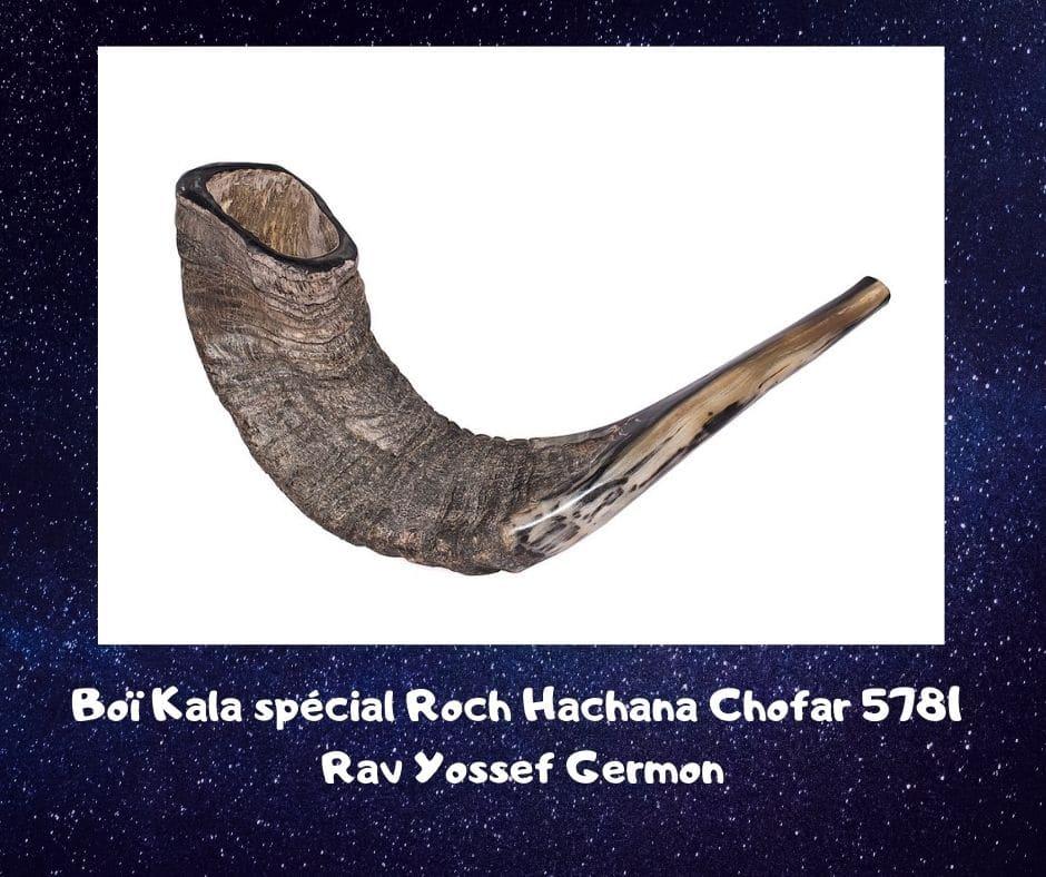 Boï Kala spécial Roch Hachana Chofar - Rav Yossef Germon