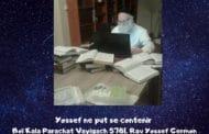 Yossef ne put se contenir Boï Kala Parachat Vayigach
