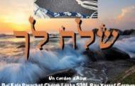 Un cordon d'Azur Boï Kala Chélah Lékha 5781. Rav Yossef Germon